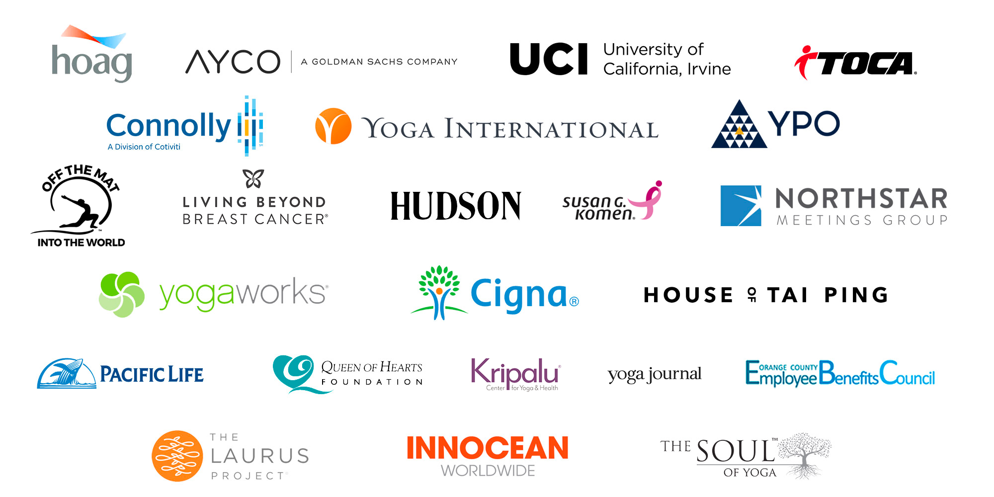 Anusha's clients and companies