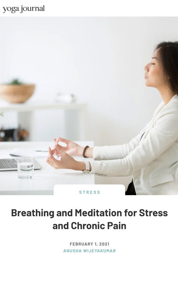 Breathing For Stress
